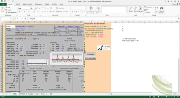 Mechanical Engineering Spreadsheets Free Download Within Excel Engineering Spreadsheets Free Download Civil Sheets