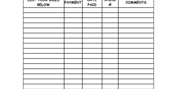 Medical Bill Organizer Spreadsheet Intended For Medical Bill Organizer Spreadsheet Template For Bills  Parttime Jobs