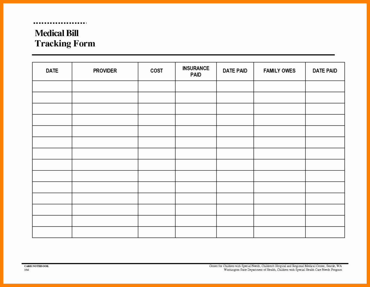 Medical Bill Organizer Spreadsheet With 11  Bills Tracker Template  Stretching And Conditioning