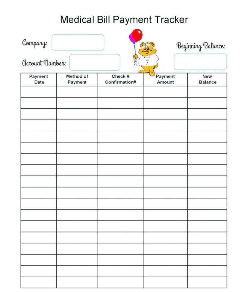 Medication Spreadsheet Organizer Within Medical Tracker Spreadsheet Expenses Free  Pywrapper