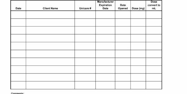 Medication Spreadsheet Organizer Within Medication Spreadsheet Organizer – 10 Amazingly Useful Spreadsheet