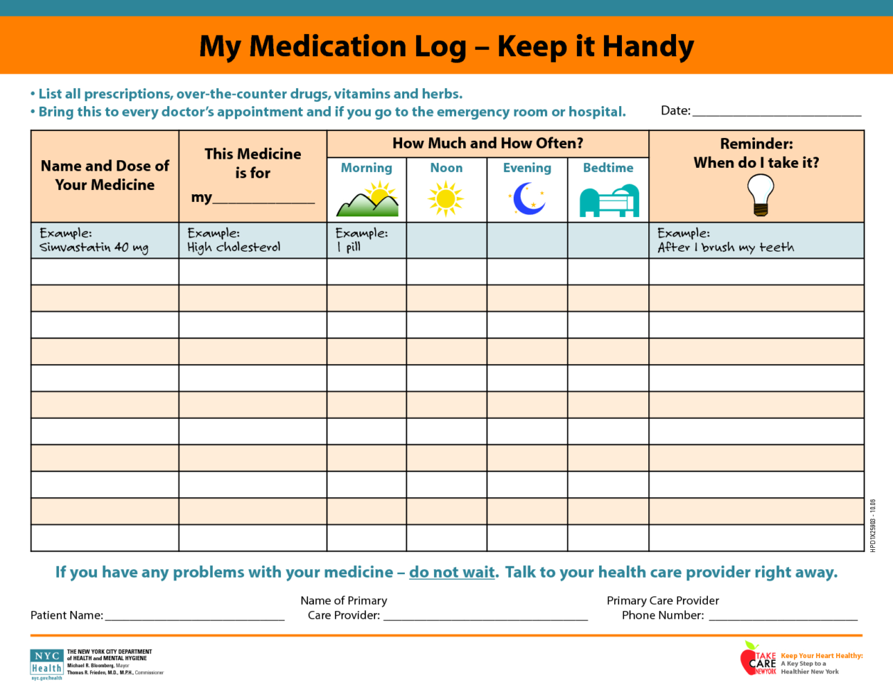 Medicine Spreadsheet Pertaining To Daily Medicationdule Spreadsheet Template Worksheet And Templates