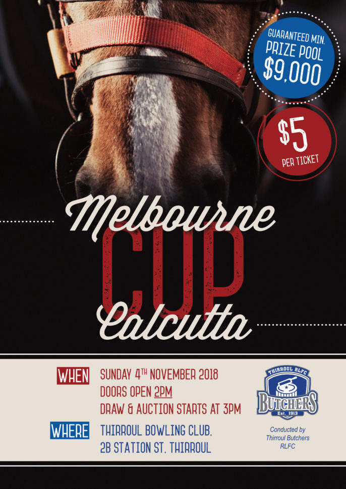 Melbourne Cup Calcutta Spreadsheet With Butchers Melbourne Cup Calcutta – 4Th November – Thirroul Butchers