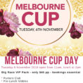 Melbourne Cup Calcutta Spreadsheet Within Melbourne Cup Day  The Franklin Club