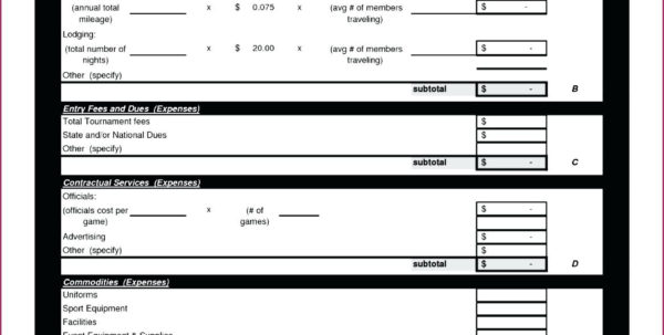 Membership Dues Spreadsheet Inside Monthly Dues Template  Rent.interpretomics.co