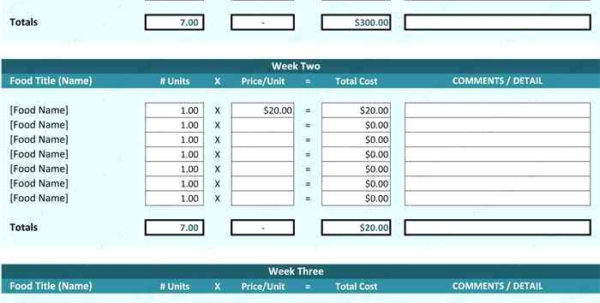 Menu And Recipe Cost Spreadsheet Template Regarding Menu Recipe Cost Spreadsheet Template. Food Cost Calculator Menu And Recipe Cost Spreadsheet Template Payment Spreadsheet