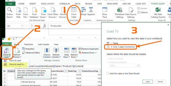 Merge Excel Spreadsheets Regarding How To Merge Tables In Power Query
