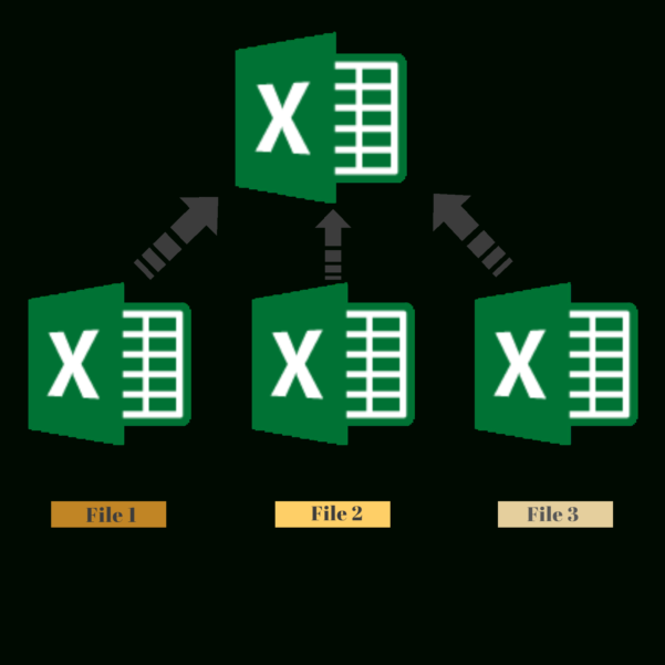 Merge Excel Spreadsheets With Excel How Toombine Multiple Workbooks Into One Workbook Merge