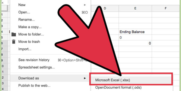 Microsoft Excel Spreadsheet Download With Regard To How To Create An Excel Spreadsheet Without Excel: 12 Steps