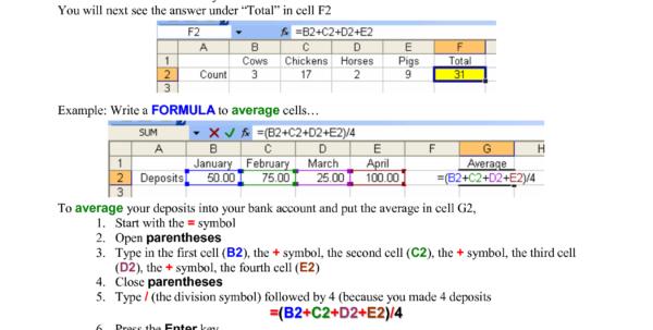 Microsoft Excel Spreadsheet Formulas List For Microsoft Excel Formula List Pdf  Homebiz4U2Profit