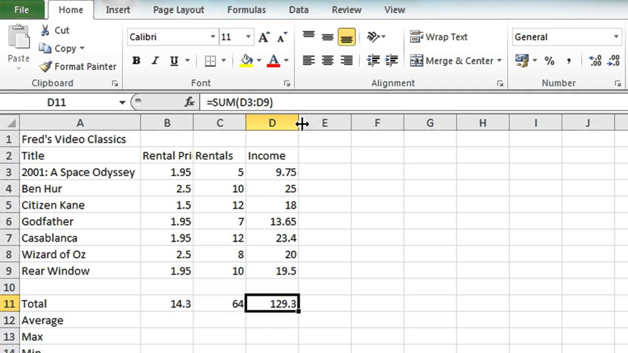 Microsoft Excel Spreadsheet Instructions Within Microsoft Excel Spreadsheet Tutorial  Aljererlotgd