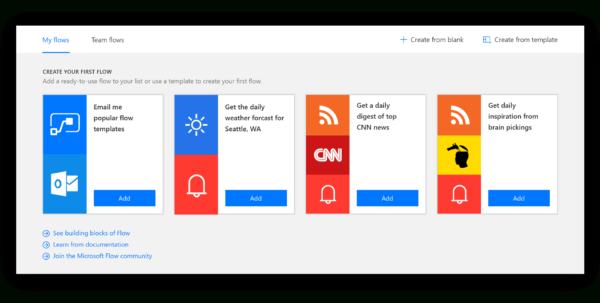 Microsoft Flow Spreadsheet In Designing Microsoft Flow – Microsoft Design – Medium