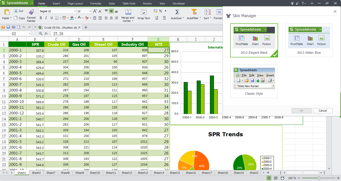 Microsoft Office Spreadsheet Intended For Wps Office 10 Free Download, Free Office Software  Kingsoft Office