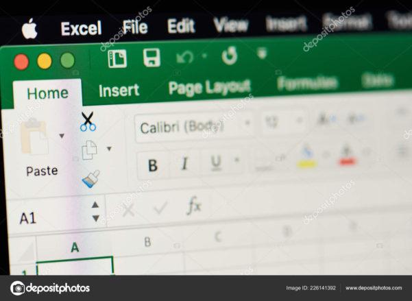 Microsoft Office Spreadsheet With Regard To Microsoft Office Excel Spreadsheet – Stock Editorial Photo © Dimarik