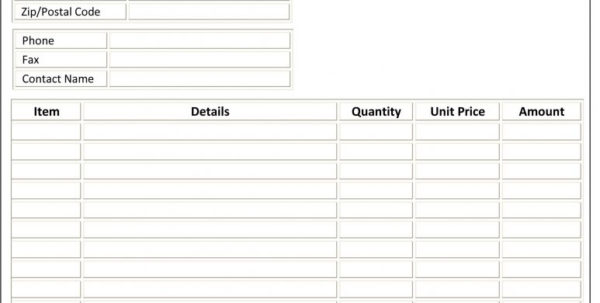 Microsoft Word Spreadsheet Template Intended For Construction Invoice Samples Spreadsheet Templates Microsoft Word