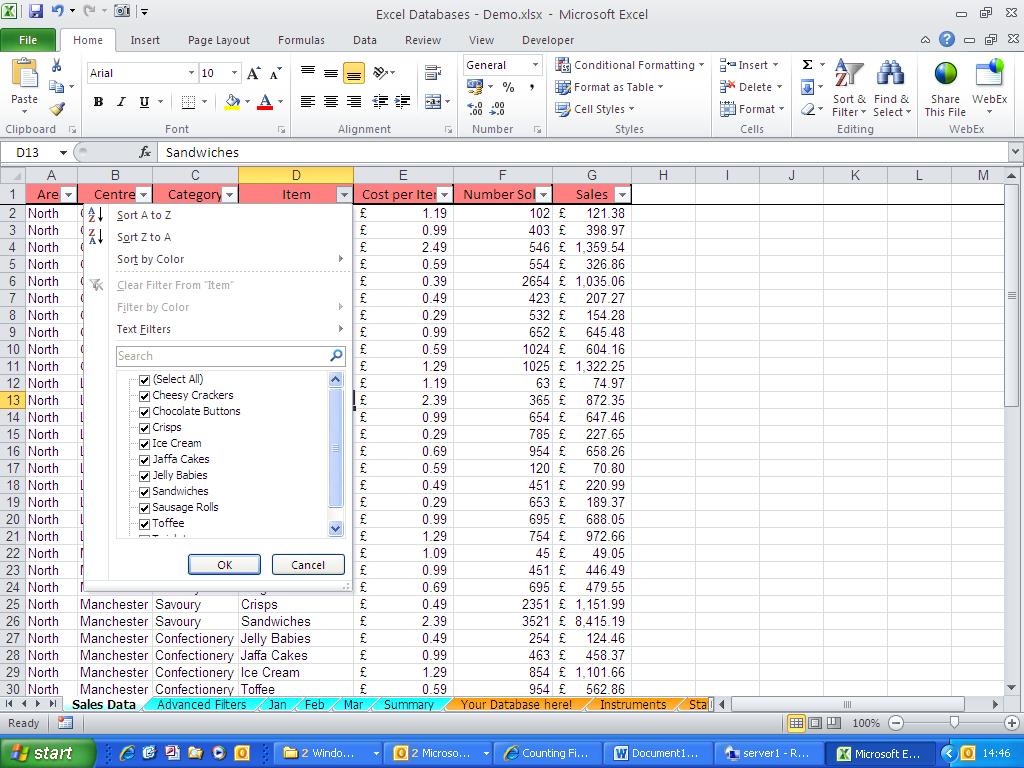 Microsoft Works Spreadsheet Formulas List Regarding Excel Blog  Calculations On A Filtered List