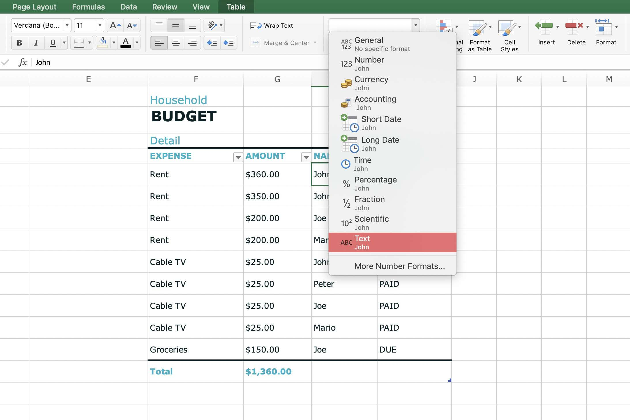 Microsoft Works Spreadsheet Formulas List With Regard To What Is A Spreadsheet Cell?