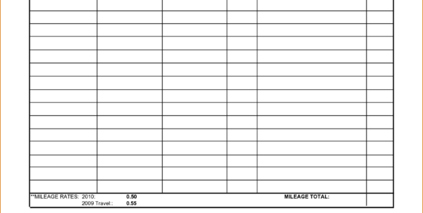 Mileage Expense Report Spreadsheet With Form Templates Mileage Tracker Free Expense Report With Template