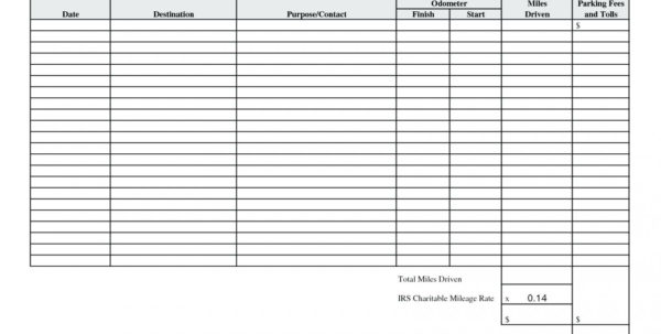 Mileage Spreadsheet For Irs With Regard To 023 Mileage Tracker Form Spreadsheet For Template Best Expense Log