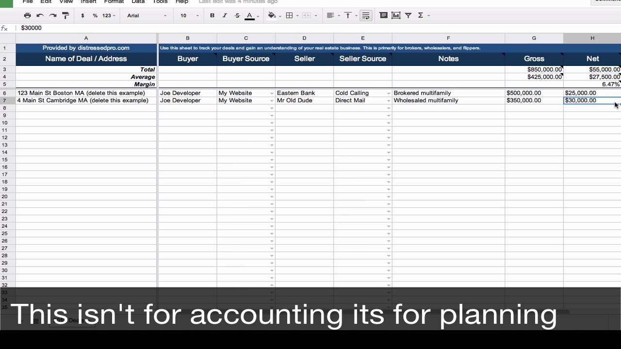 Millionaire Real Estate Agent Spreadsheet Within Real Estate Spreadsheet Excel Training Development Analysis