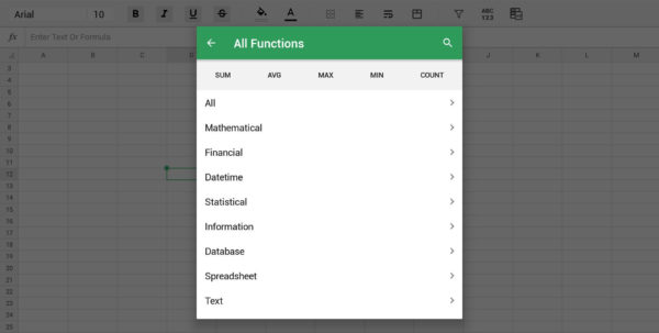 Mobile Spreadsheet App With Regard To The 5 Best Spreadsheet Apps For Android In 2019