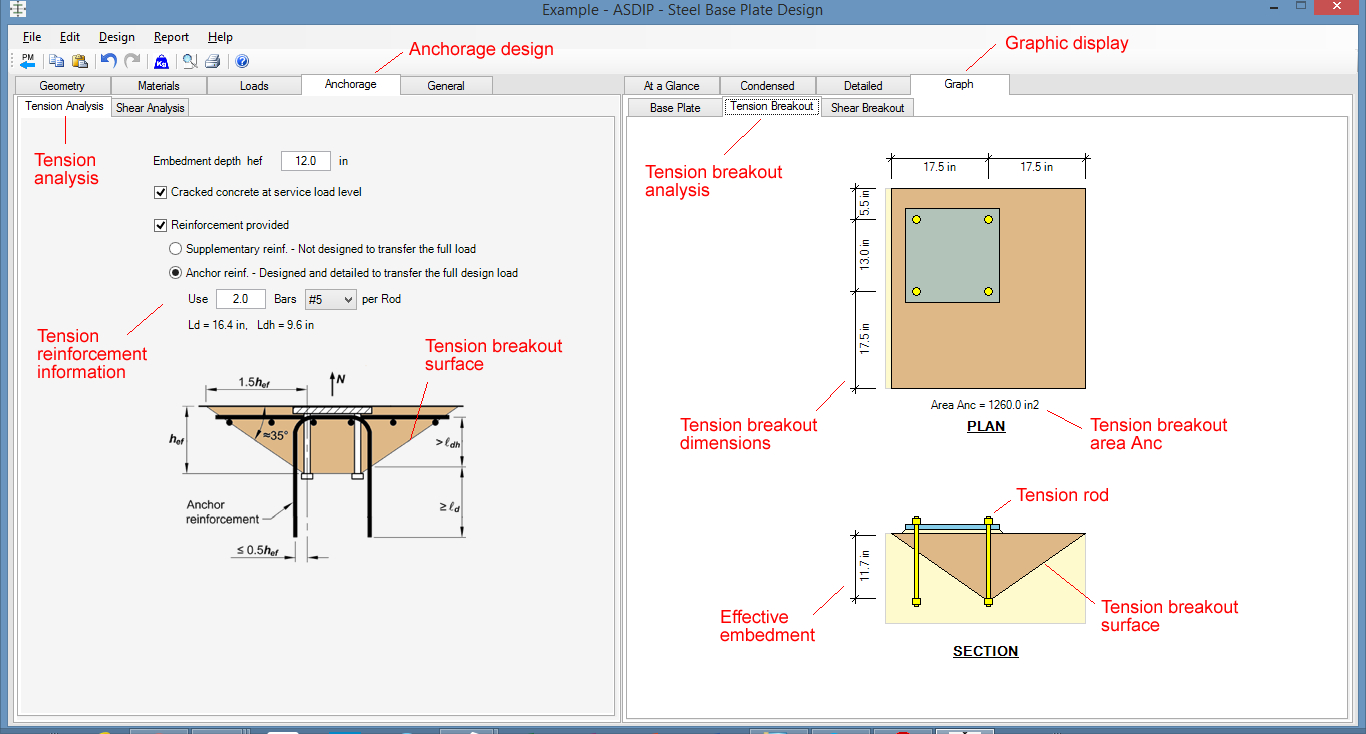 Moment Connection Design Spreadsheet For Steel Beam, Column, Plate, Anchor, Connection Software  Asdip Steel