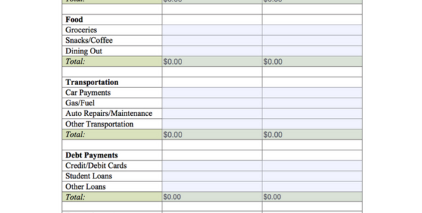 Money Expenses Spreadsheet With Budget Worksheet Printable Teens Pinterest Budgeting Help Your