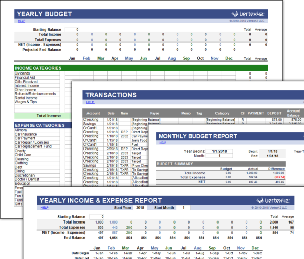 Money Management Spreadsheet Free Inside Free Money Management Template For Excel