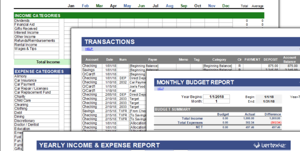 Money Management Spreadsheet Template In Free Money Management Template For Excel