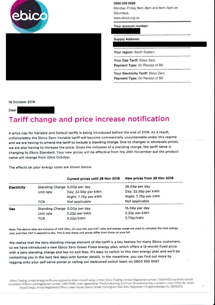 Money Saving Expert Budget Spreadsheet Intended For Ebico Zero Variable Tariff To Be Withdrawn  Page 3