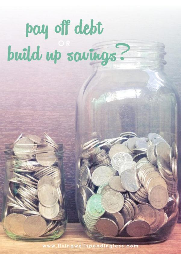 Money Saving Expert Budget Spreadsheet Throughout Pay Off Debt Or Build Savings? Fixing Your Finances