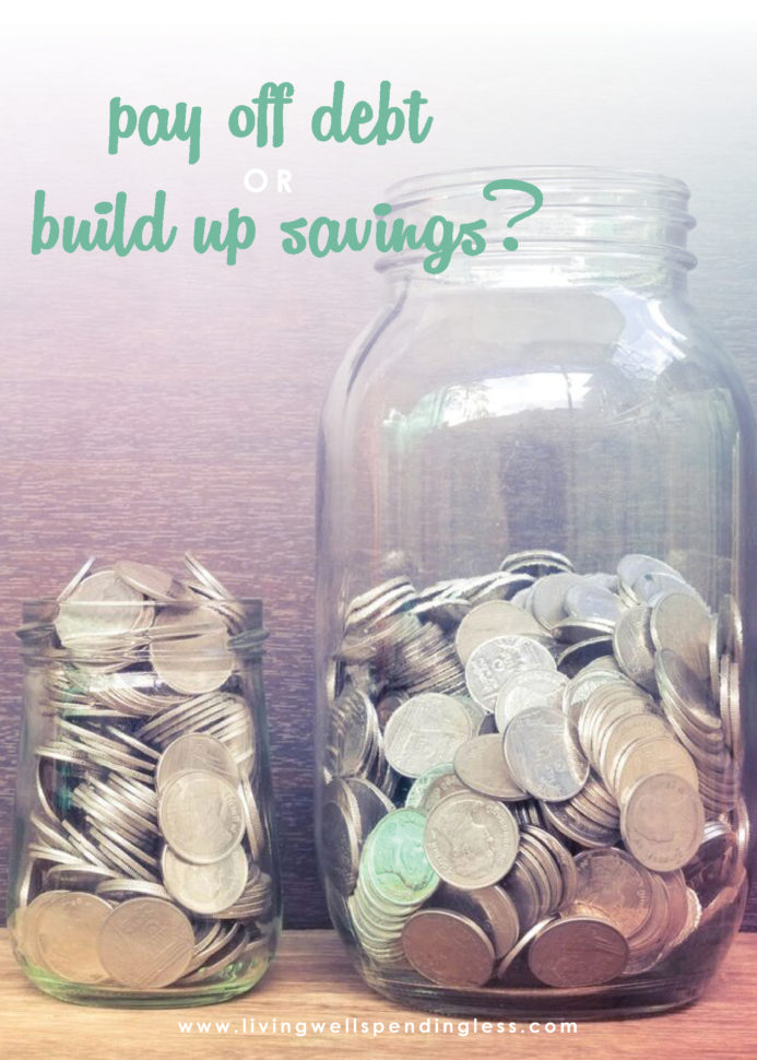 Money Saving Expert Budget Spreadsheet Throughout Pay Off Debt Or Build Savings? Fixing Your Finances