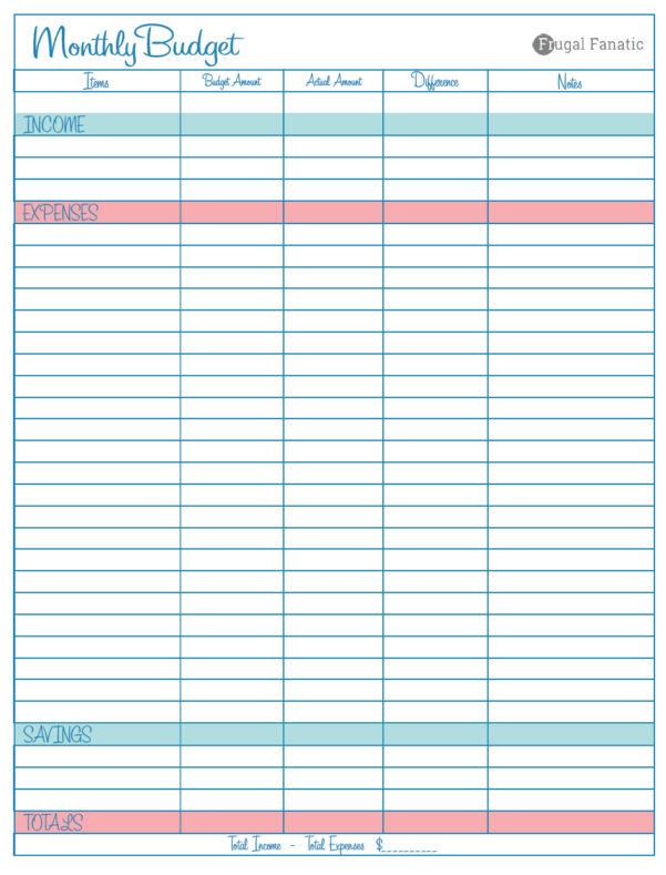 Money Saving Spreadsheet Intended For Spreadsheet Examples Save Money Budget Blank Monthly Worksheet