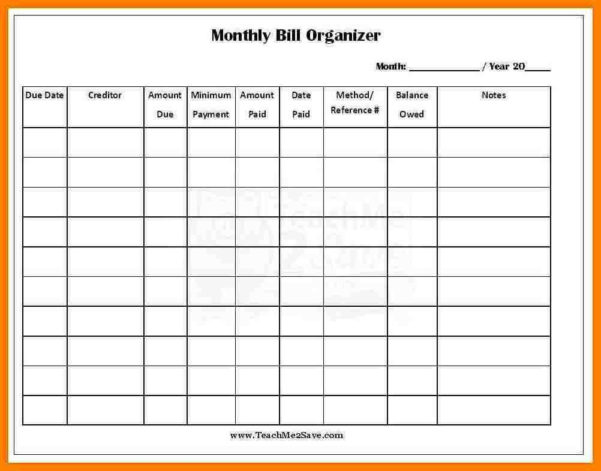 Monthly Bills Spreadsheet With Bill Sheet Template Rent Collection Spreadsheet And 8 Monthly Bills
