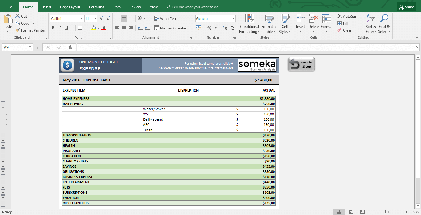 Monthly Budget Excel Spreadsheet Template Free Inside Monthly Budget Worksheet  Free Budget Template In Excel