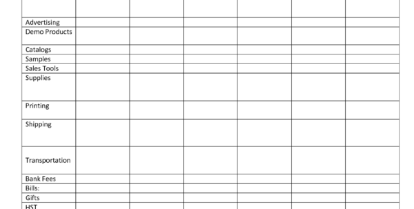 Monthly Expense Tracking Spreadsheet For Expense Tracking Sheet Printable Monthly Daily Tracker Spreadsheet