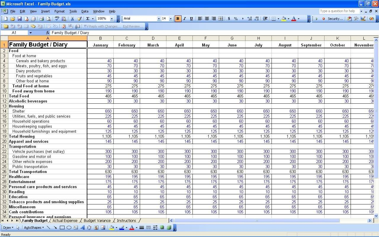 Monthly Income And Expenditure Spreadsheet For Free Printable Monthly Budget Spreadsheet And Free Monthly Income