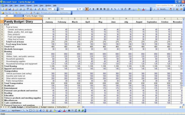 Monthly Income Expenditure Spreadsheet With Free Printable Monthly Budget Spreadsheet And Free Monthly Income