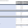 Monthly Personal Expenses Spreadsheet For Free Monthly Budget Templates  Smartsheet