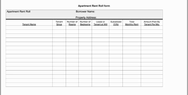 Monthly Rent Collection Spreadsheet Template In 58 Inspirational Pictures Of Rental Property Spreadsheet Template