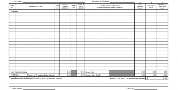 Monthly Rent Collection Spreadsheet Template Inside Example Of Rent Collection Spreadsheet Payment Record Template Selo