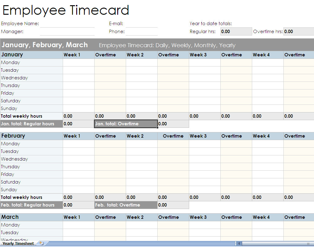 Monthly Timesheet Excel Spreadsheet In Payroll Time Sheets Excel  Rent.interpretomics.co