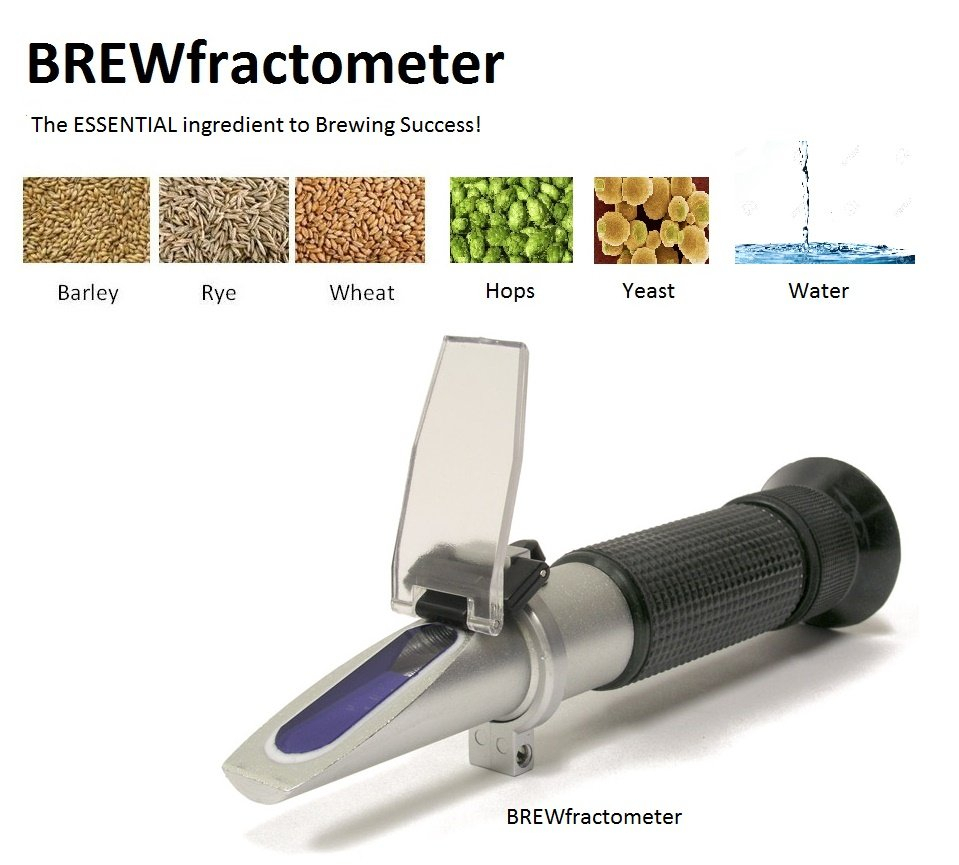 More Wine Refractometer Spreadsheet Inside $49.99 The Original Brewfractometer Atc 032% Brix  1.0001.140