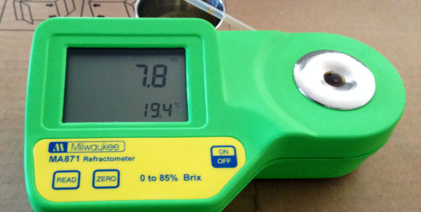 More Wine Refractometer Spreadsheet Regarding No More Refractometer Guess Work For Me! : Homebrewing