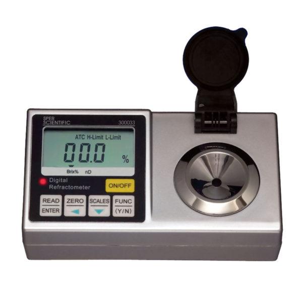 More Wine Refractometer Spreadsheet Within Lab Refractometer  Digital  Sugar Brix  Sper Scientific