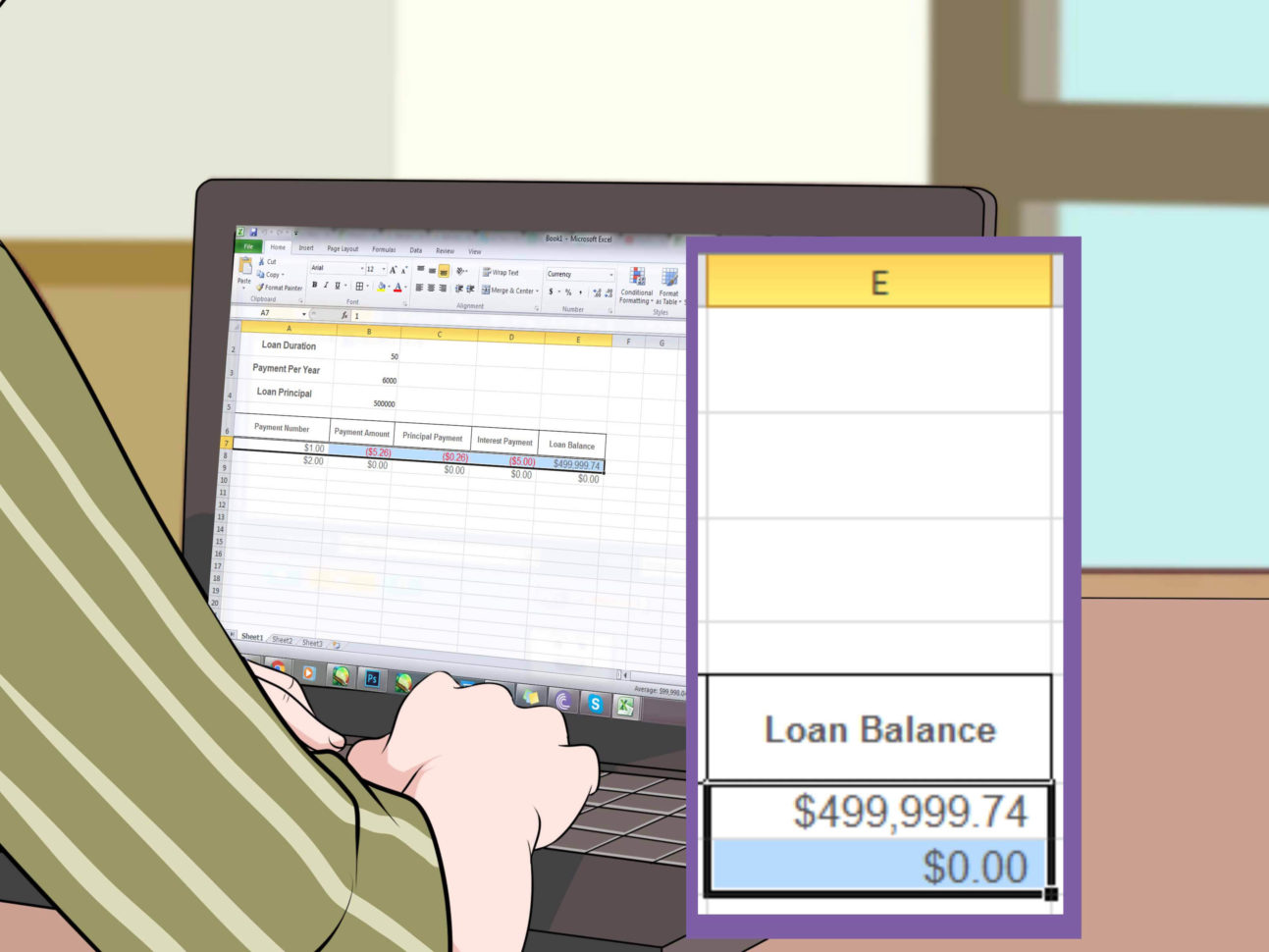Mortgage Accelerator Spreadsheet In How To Calculate Mortgage Payments With Examples  Wikihow