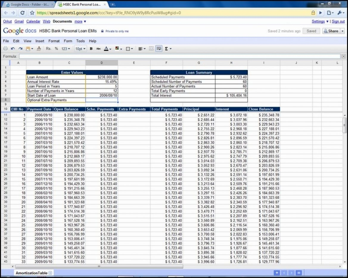 Mortgage Amortisation Spreadsheet Inside Excel Mortgage Calculator With Extra Payments 1293X970 Spreadsheet