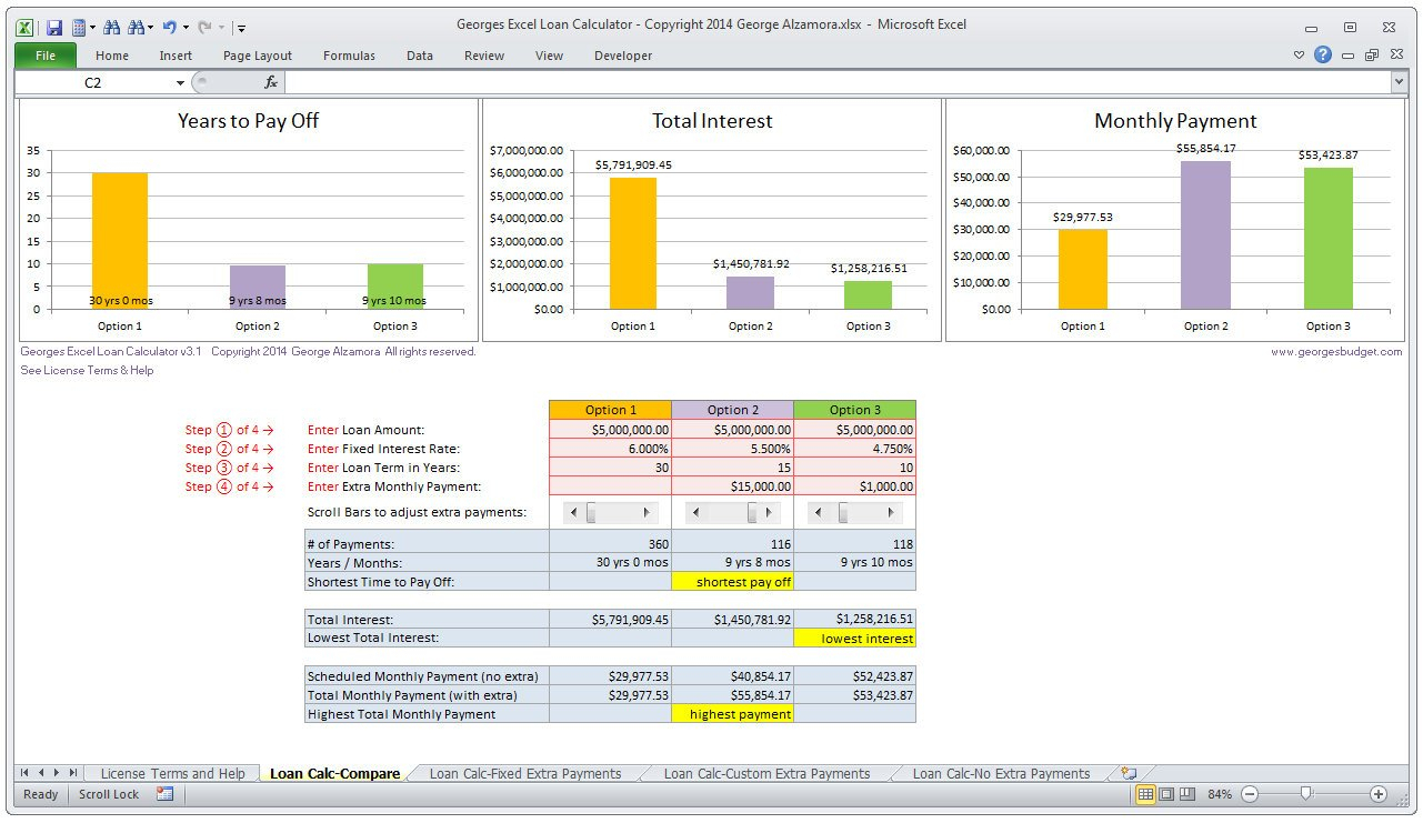 Mortgage Amortisation Spreadsheet With Home Loan Calculator Spreadsheet  My Mortgage Home Loan