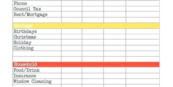 Mortgage Budget Planner Spreadsheet For Budget Planning Spreadsheet As Well Monthly Planner Template Pdf