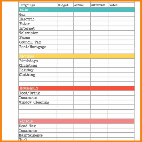 Mortgage Budget Planner Spreadsheet With Regard To 8  Budget Planner Spreadsheet Uk  Credit Spreadsheet